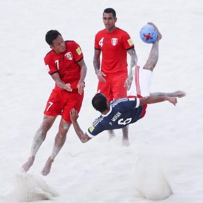 Paraguay será sede del mundial de fútbol de playa 2019