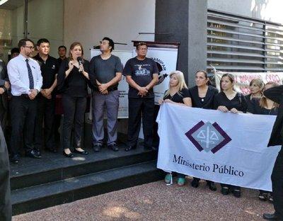 Fiscales repudian amenaza contra Sandra Quiñónez