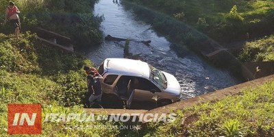 PERCANCE AUTOMOVILÍSTICO OCASIONÓ GRAN SUSTO EN NATALIO.