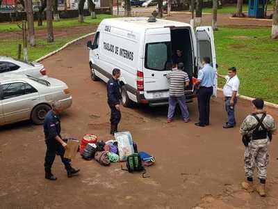 Trasladan a reclusos a cárcel de Coronel Oviedo