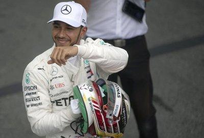 Hamilton saldrá desde la pole positión en Gran Premio de Brasil