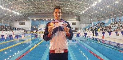 Benjamín Hockin gana la primera medalla de oro