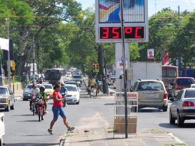 Domingo con extremo calor