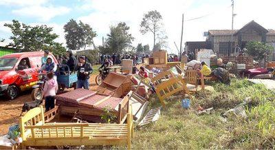 Desalojan a 60 familias y ocupantes precarios acusan a Gill López de estafarlos