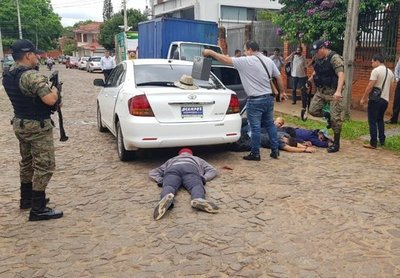 Caen 5 sujetos tras un intento de asalto y cegar la vida de un subcomisario
