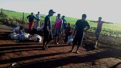 Indígenas denuncian ataque de brasileños en Canindeyú