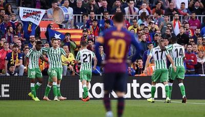 El Barcelona pierde en Liga como local 26 meses después