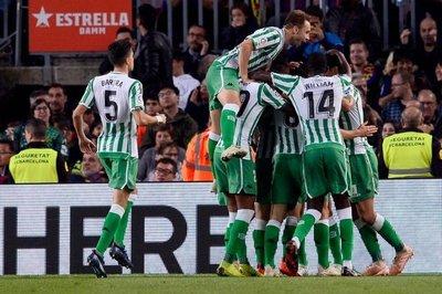 Barcelona cae en casa con Betis