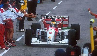 Un cuarto de siglo de la última victoria de Ayrton
