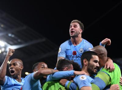 El City se quedó con el derbi de Manchester