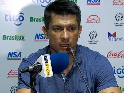 Gustavo Florentín, técnico de Guaraní