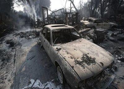 California: Intensa lucha contra los incendios