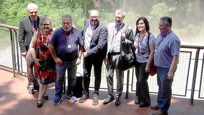 Expertos internacionales en museología visitaron Bertoni y los Saltos del Monday