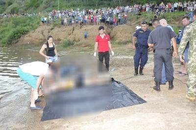 Hallan el cuerpo de la joven que se ahogó en el Paraná, tras ocho días de angustia familiar