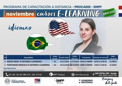 CLASES ONLINE DE INGLÉS Y PORTUGUÉS INICIAN ESTE MIÉRCOLES