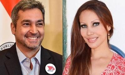 HOY / La 'cola más tatuada del país' y su sugestivo saludo a Abdo: 'Feliz  cumpleaños mi querido presidente'