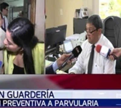 Ordenan prisión preventiva a parvularia denunciada por maltrato