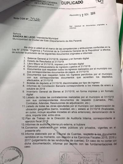 Contraloría no encuentra documentos originales en comuna esteña