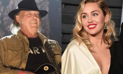 HOY / Neil Young y Miley Cyrus pierden sus casas por incendio de California
