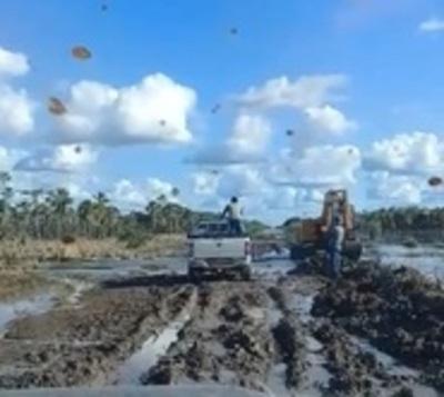 Rutas de Alto Paraguay en pésimo estado pese a millonarias inversiones