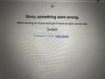 Facebook cayó por unos minutos a nivel mundial