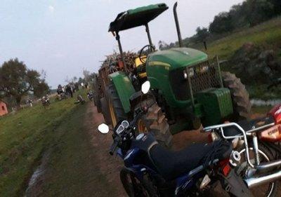 Niño pierde la vida tras ser arrollado por la carreta de un tractor en Caazapá