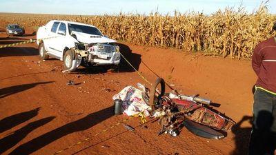 Fatal accidente se cobra la vida de dos menores