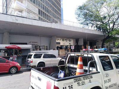 Desalojan al Hard Rock Café por falta de pago de alquiler al Hotel Guaraní