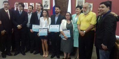 Junta Municipal hizo reconocimiento a ciudadanos destacados