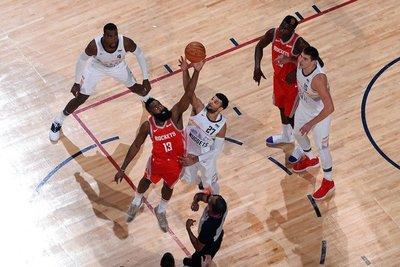 Harden guía a Rockets en triunfo sobre Nuggets en la NBA