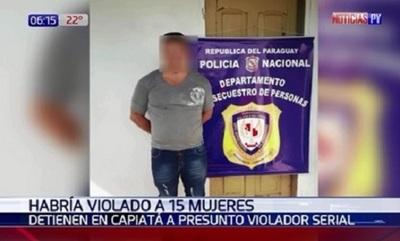 Policía captura a sospechoso de varias violaciones