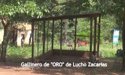 Lucho Zacarías le robó el sueño hasta a los indígenas, con sus gallineros de oro