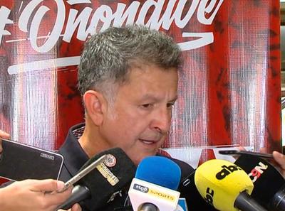 Juan Carlos Osorio, de cara a su primer amistoso