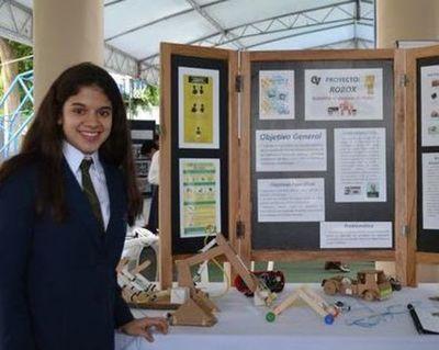 Alumna de Campo Verde recibirá premio en Brasil