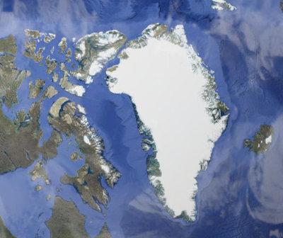 Descubren cráter tamaño de París en Groenlandia provocado por un meteorito