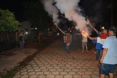 Incidentes durante escraches en Concepción