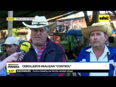 Cebolleros, preocupados por bajas ventas