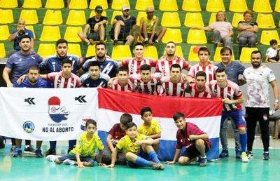 Paraguay está listo para el Mundial C20 de Fútbol de Salón