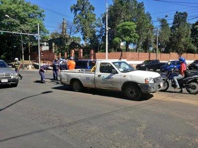Cerrarán avenida Choferes del Chaco por trabajos de desagüe pluvial