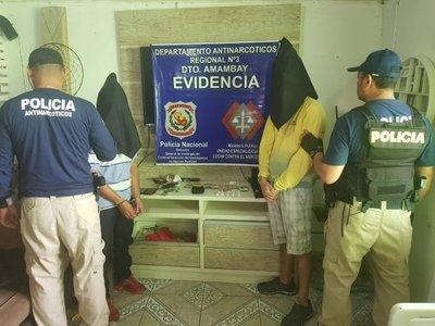 Desactivan focos de tráfico de drogas en Pedro Juan Caballero