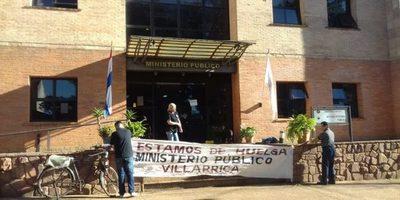 Funcionarios  de la fiscalía seguirán de huelga tras aceptación de veto del ejecutivo