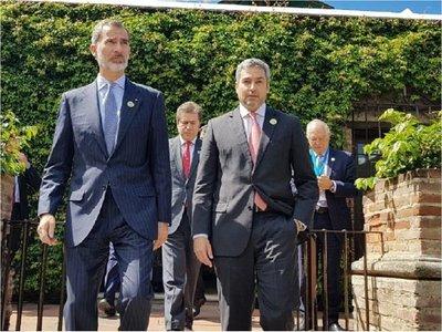 Rey de España interesado en  impulsar  inversión comercial