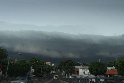 Alerta de tormentas en varios departamentos