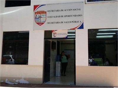 Accidente con gas pimienta en la Gobernación de Alto Paraná