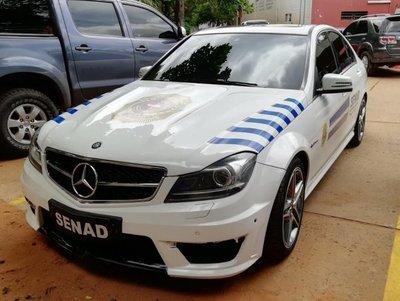 Autos narcos, ahora de Senad