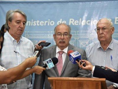 UIP pide a Cancillería intervención para liberar buque detenido