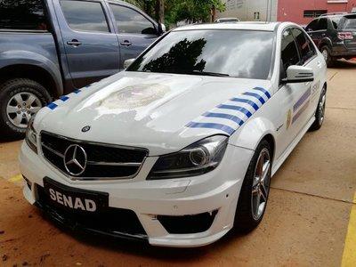 Senad comienza a utilizar vehículos incautados al crimen organizado