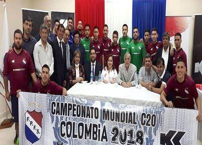 Selección paraguaya C20 rumbo a Colombia