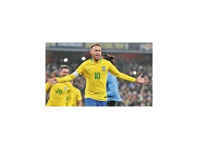 Neymar volvió a ser la estrella