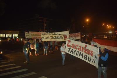 Indignados piden enviar a los Zacarías a Tacumbú